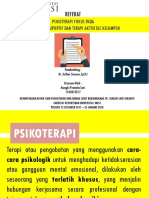 PPT Referat Psikoterapi