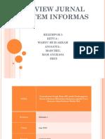 Review Jurnal Sistem Informas
