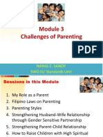 Module 3 - Challenges of Parenting Presentation