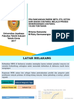 PPT Dehidrogenasi 2-Butanol MEK