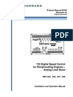 723 digital speed controller