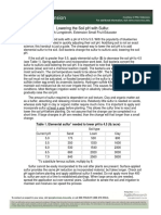 Lowering Soil PH With Sulfur