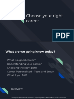 Choose Your Right Career