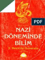 Alan D. Beyerchen. Nazi Döneminde Bilim. 3. Reich'Da Üniversite (1985)
