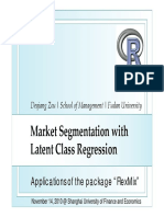 China R 2010 Market Segmentation With Latent Class Regression