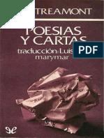 Lautreamont, Comte de - Poesias y Cartas [47767] (r1.0)