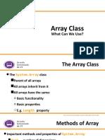 Array Class