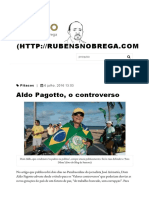 Aldo Pagotto, o controverso - Blog do Rubão