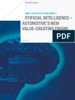 Artificial Intelligence Automotives New Value Creating Engine