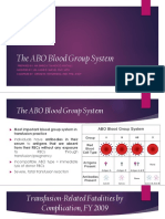 LECTURE 6=The ABO Blood Group System