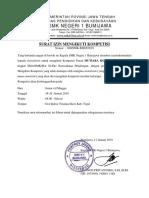 Surat Rekomendasi SMK