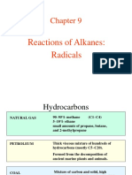 Reactions of Alkanes