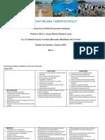 FODA. Propuesta Para Huatulco, Convenciones-SUBIR