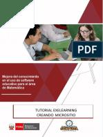1.Tutorial EXeLearning_creando Micrositio Para Matemática