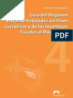 Guía Del Régimen Fiscal de Entidades Sin Fines Lucrativos y de Los Incentivos Fiscales Al Mecenazgo 33776