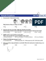 NSTSE Sample Paper Class 3