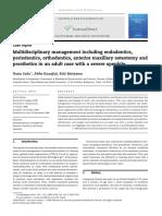 Multidisciplinary Management