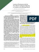 Doi Double Free Muscle Transfer (JBJSA 2000)