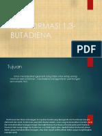 Konformasi 1,3 Butadiena