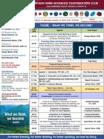 Agenda Mtg 12 - Riyadh Gems Jan 12, 2019