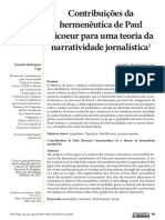 LAGE, Leandro. Contribuições da hermenêutica de Paula Ricoeur para uma teoria da narratividade jornalística.pdf