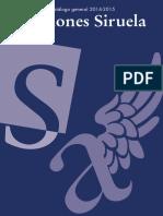 Catálogo General Ediciones Siruela