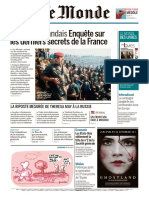 Journal Le Monde Et 2 Supplements Du 16 Mars 2018