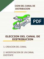Clase 3 - Elección Del Canal de Distribución