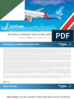 01082019 Jetlines Corporate Presentation