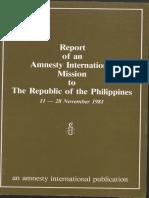 Amnesty Report