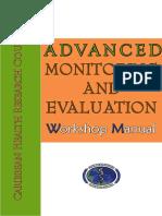 Advanced M&E Manual