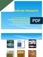 Mixed Methods Presentation