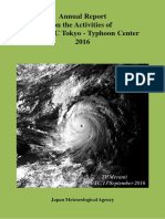 2016 Typhoon Report JMA