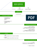Modelo de Curriculo Para Preencher 6 Simplic