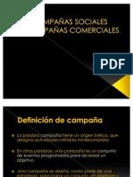 Campañas Sociales / Comerciales