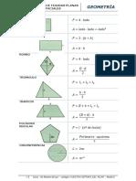 Formulario de Geometría