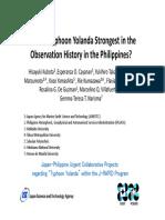 Typhoon Haiyan Analysis