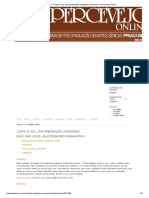 9. Corpo e Voz, Uma Preparação Integrada. _ Ramos _ O Percevejo Online