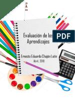 Portafolio Evaluación de los aprendizajes