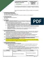 DB-VRA-095 Trabajo de Suficiencia Profesional (Modalidad de Titulación) TSP 2019