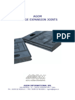 Agom Expansion Joints
