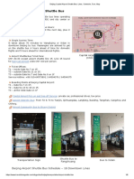 Beijing Capital Airport Shuttle Bus_ Lines, Schedule, Fare, Map