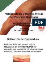 Fisiopatología y Manejo Inicial Del Paciente Quemado