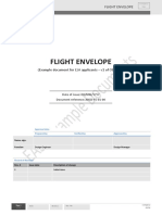 ABCD-FE-01-00 Flight Envelope - V1 08.03.16