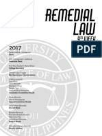 Up Remedial Law Reviewer 2017