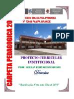 Proyecto Curricular Institucional 2018