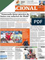 Diario El Nacional 20-01-2019