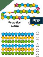 Gusano de Fraccions (Fraction Worm) en Frances[3220]
