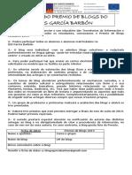Premio de Blogs IES García Barbón