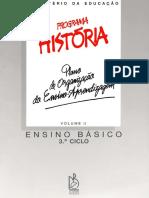 Programa História PT Vol II